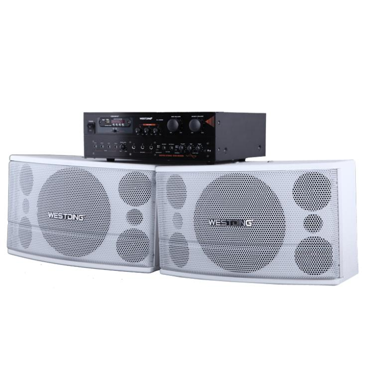 Sound card package family home ktv professional conference font b speaker b font amplifier equipment Kara