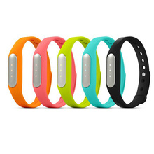 2015Original Xiaomi mi band Bracelet MiBand Bluetooth IP67 Waterproof Smart Wristbands for Android 4.4 Phones for iphone IOS7/8