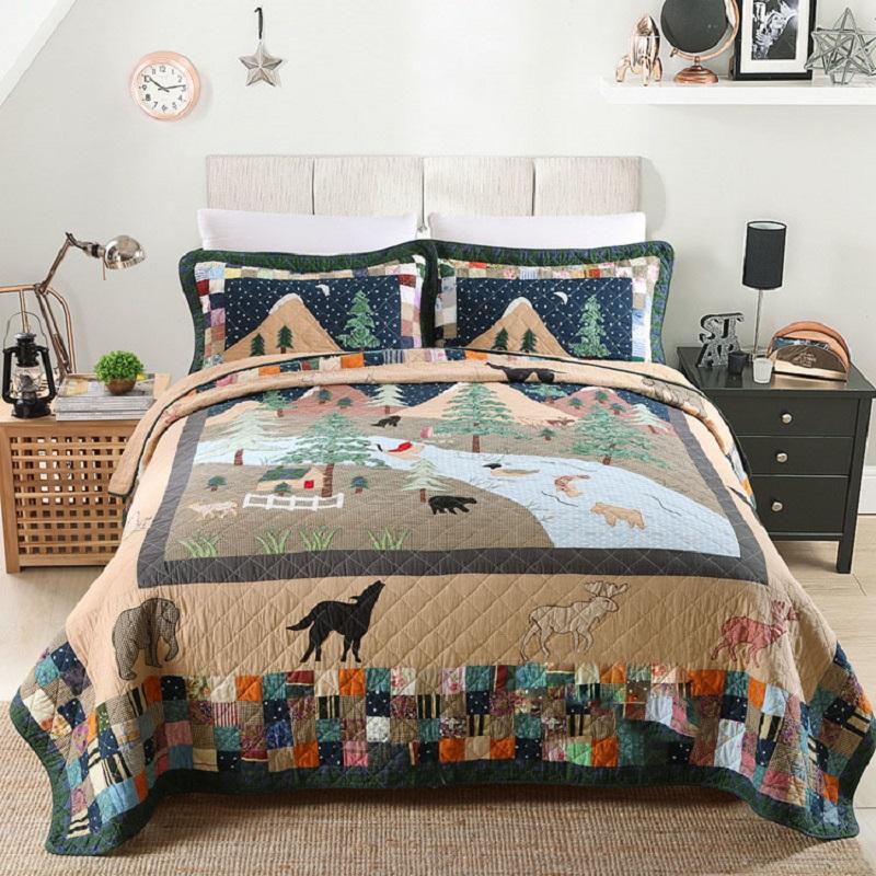 kingsize bett quilt werbeaktion shop f r werbeaktion. Black Bedroom Furniture Sets. Home Design Ideas