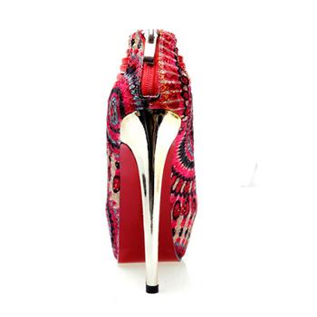 Aliexpress.com : Buy Red Bottom High Heels Open Toe Women Platform ...