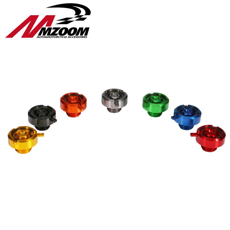 Mzoom Motorcycle ENGINE OIL FILLER CAPS For yamaha honda Kawasaki Ducati M20x2.5(China (Mainland))