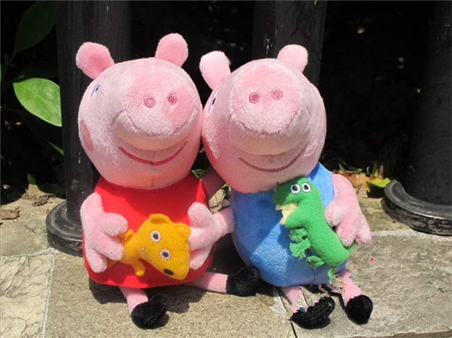 Pink Dinosaur Teddy Pig Pink Pig With Teddy