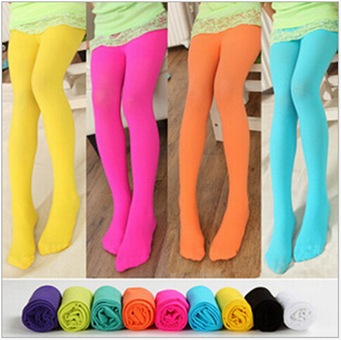 Free shipping new 2017 Baby girl stockings child kids tights female pantyhose stocking velvet dance 11 colors(China (Mainland))
