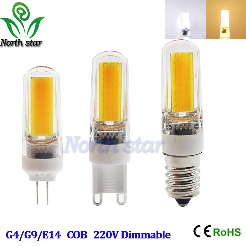 Mini G4 G9 E14 LED Lamp COB LED Bulb 3W 6W 9W DC/AC 12V 220V LED Light 360 Beam Angle Chandelier Lights Replace Halogen Lamps(China (Mainland))