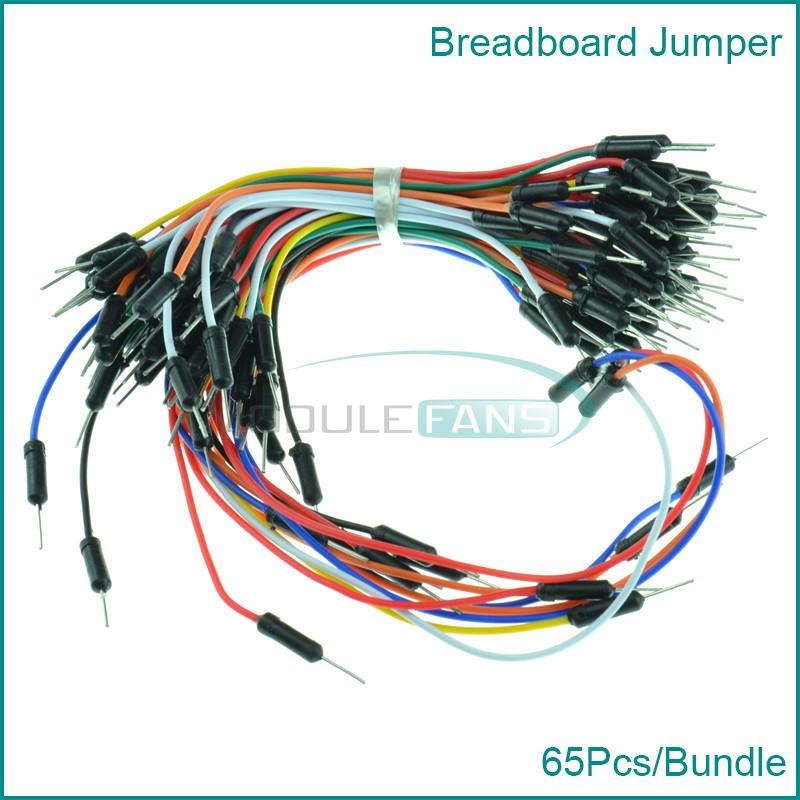 how to properly add a jumber wire on breadboard