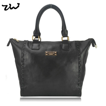 Top Quality New Arrival 2015 Fashion Tote Bags with Metal Fitting Brand Women Bag Handbag Promotion CT15195