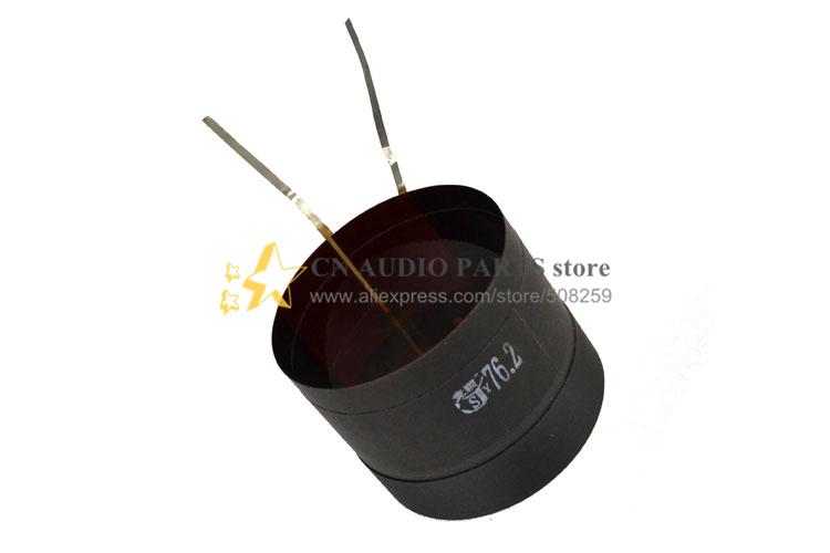"1 piece ID 3"" 76.2mm Flat aluminum wire woofer bass loudspeaker speaker voice coil(China (Mainland))"