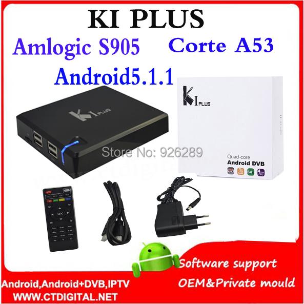 2016 Newest Hot Sell K1 Plus Amlogic S905 OTT TV Box 4k Full HD 1G/8G Quad Core Android 5.1.1 STB Hybrid Wifi Media Player<br><br>Aliexpress