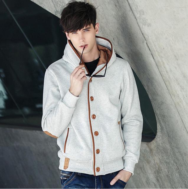 British College Hoodies & Sweatshirts Leisure Cardigan Sport Jacket Casual Men Coat High quality Trend Men Outdoor Hoody