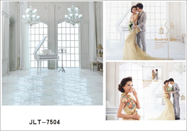 200cm*300cm Vinyl Backdrops Photography Wedding Photo Background Studio Prop JL-7504