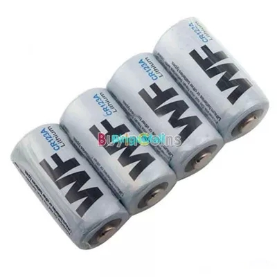 4 X CR123A CR123 CR 123 123A 16340 Lithium Battery 3V MBIC #1768(China (Mainland))