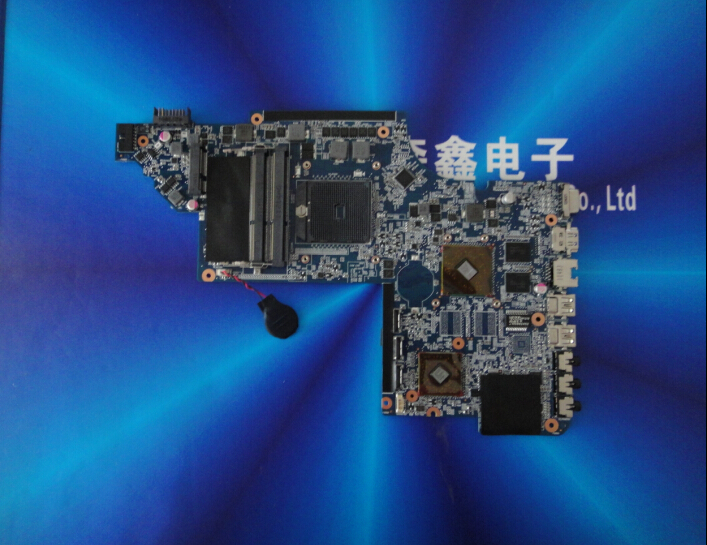 New for HP DV7-6000 series 649248-001 laptop motherboard HM65 with HD6490 4 video chips 1GB non-integrated graphics card(China (Mainland))