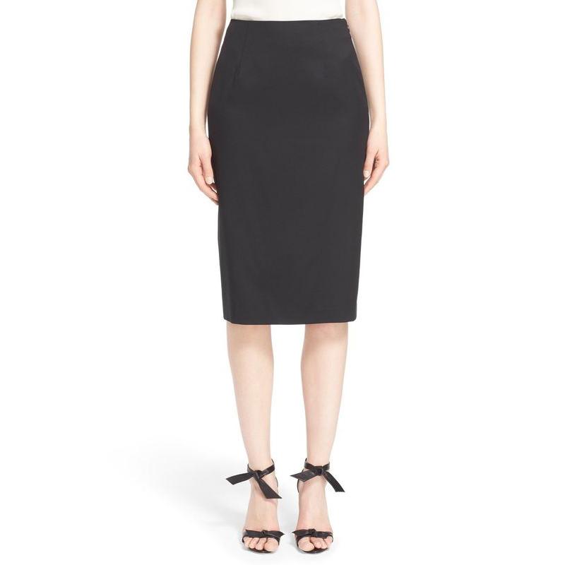New Fashion 2016 Spring Summer Women High Waist Skirt Solid Slim Package Hip Saia Office Laidies Sexy Pencil Skirts Hot Faldas(China (Mainland))