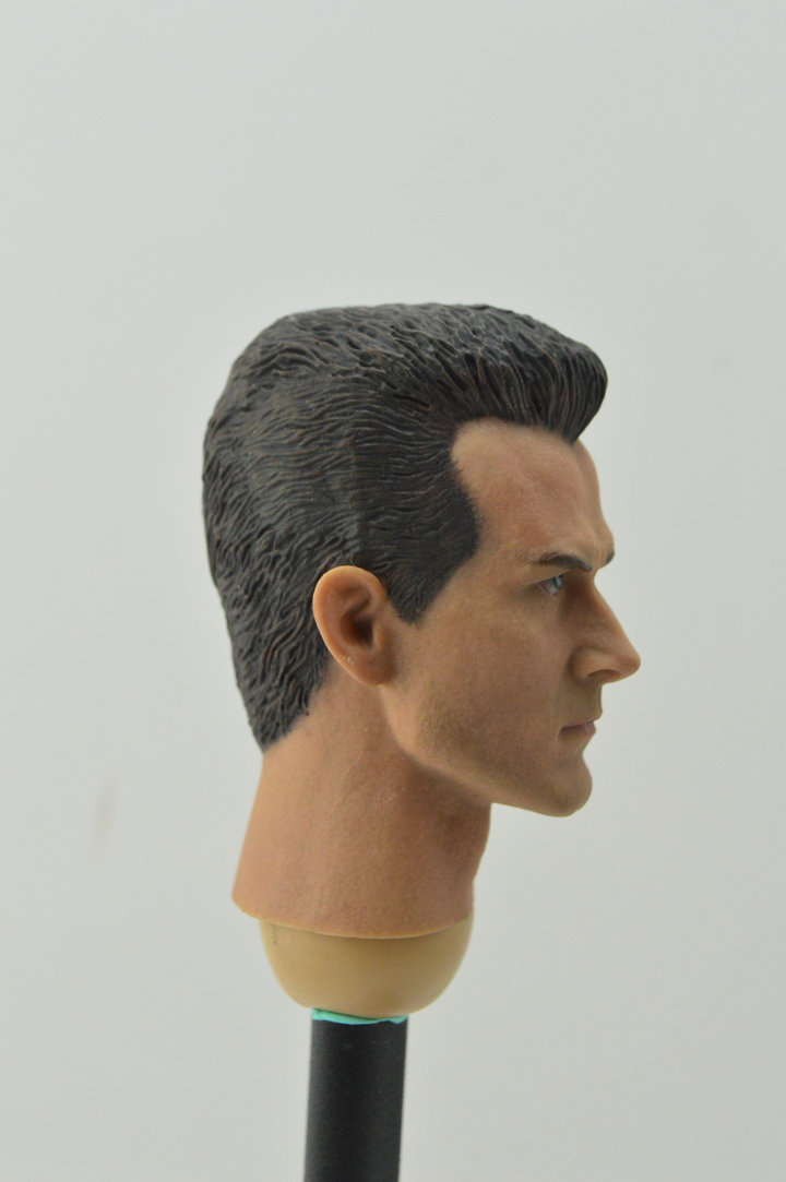 "1//6 Scale B006 Male Skin Body Fit 12/"" Hot Toys Custom Doll Head Sculpt Figures"