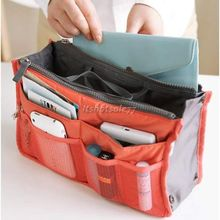 New Fation functional Cosmetic Bag Make up organizer bag Women Men Casual travel bag storage bag in bag Handbag CosmeticBag03