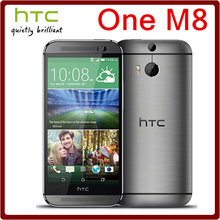 M8 Original Unlocked HTC One M8 5MP 2600mAh LTE 4G 32GB ROM 2GB RAM Quad Core 5.0 3Camera Touchscreen Smartphone Free Shipping(China (Mainland))