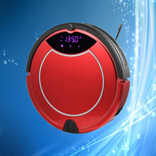 New Arrival Household Intelligent Robot Vacuum Cleaner with Virtual Wall, Wet & Dry Mop, Auto Charging Function, CE Certificate(China (Mainland))