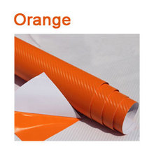 New 2016 Car Styling 50*200cm DIY Waterproof Car Stickers 3D Car Carbon Fiber Vinyl Many Color Available Decorative Film Paper(China (Mainland))