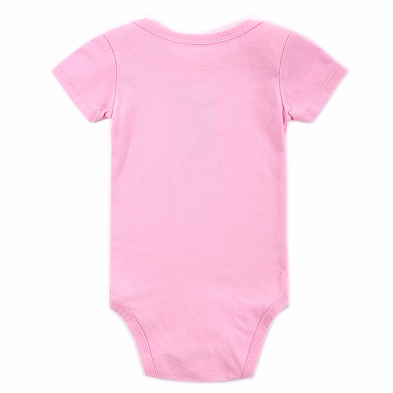 Retail 2016 New Baby Rompers GirlBoy Baby Romper Short Sleeve One-piece Jumpsuit Baby Clothes for Newborn (7)