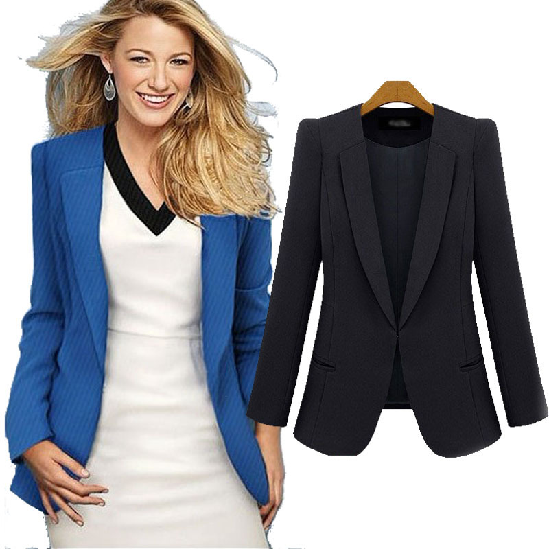 Formal office women blazers and jackets 2015 hot sale ...
