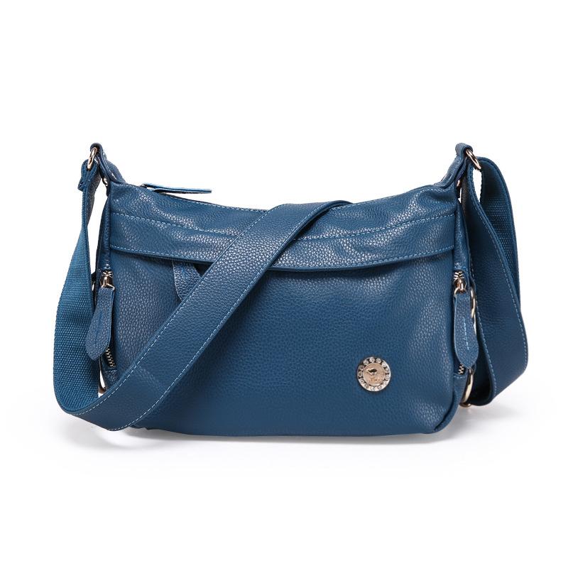2016 Fashion Genuine Leather Cowhide Leather Women's Handbags Women Crossbody Bag Shoulder Bags Leather Bag Women Messenger Bags