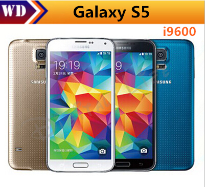 Unlocked Original Samsung Galaxy S5 I9600 G900F G900A G900H Cell Phone 16MP Quad-core GPS WIFI Refurbished Smartphone(China (Mainland))