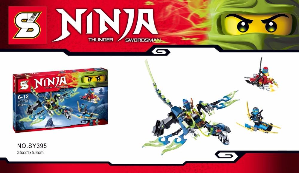 Phantom Ninja Thunder Swordsman Ghost Dragon SY395 Minifigures Building Block Minifigure Toys Compatible With Lego