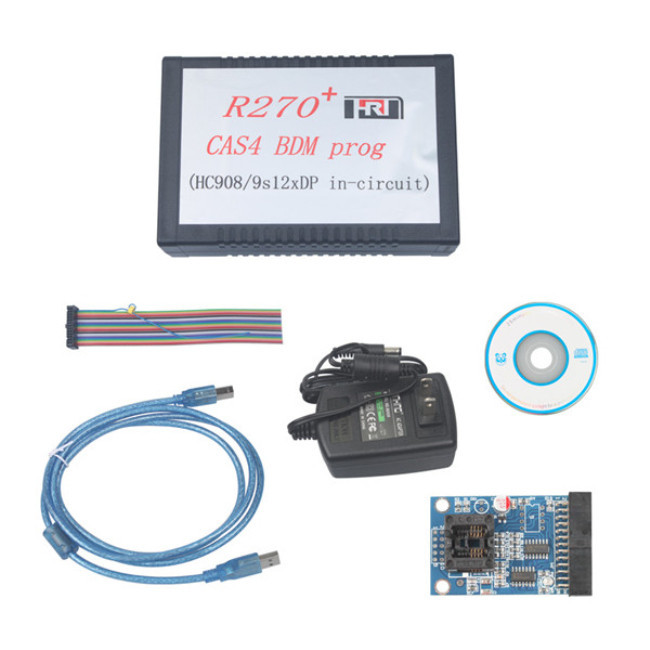 Good quality of R270 Key Programmer R270 Support for BMW and for Benz with newest verstion selling best and shipping fast(China (Mainland))