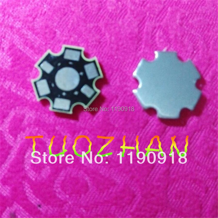 1W / 3W LED PCB/ Aluminum base plate/ Circuit board/ PCB LED board for led high power lamp, 200/lot & free shipping(China (Mainland))
