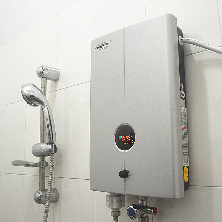 Гаджет  Electric water heater shower the hot water heater tankless heater double 5-8kw None Бытовая техника