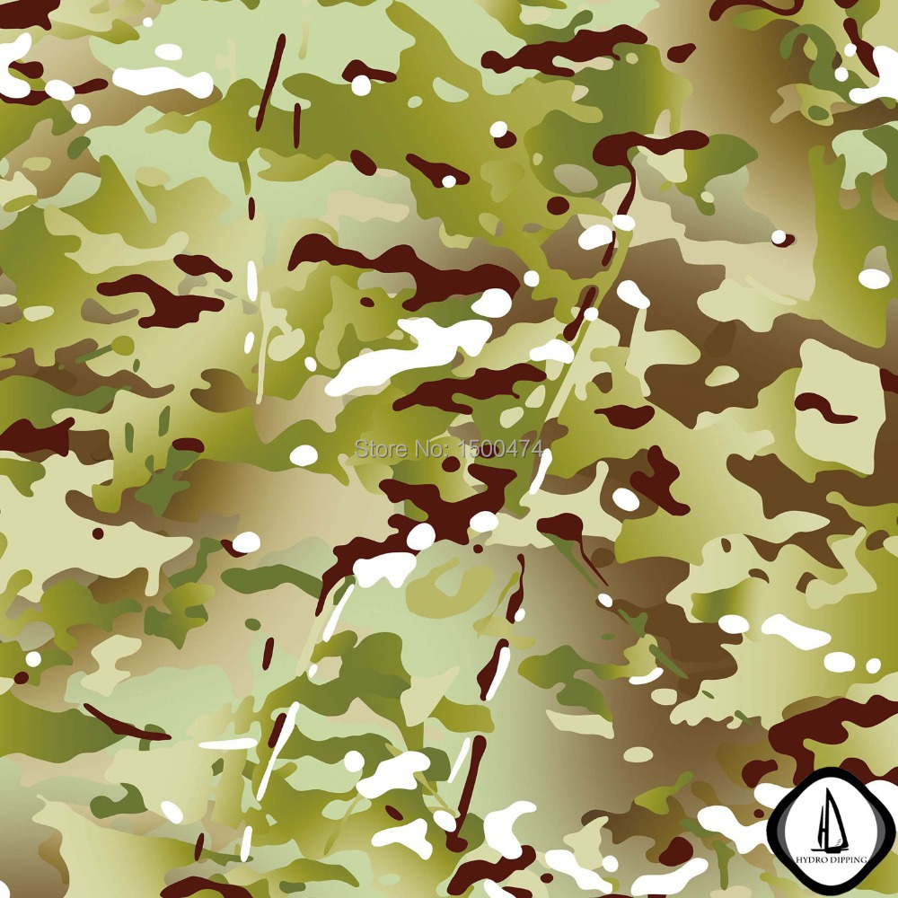Hot Sale Leaves Camo Hydrographics Water Transfer Printing Film NO.JM073 Width 0.5M Hydrographic Film Transfer Hydro Dipping(China (Mainland))