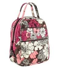 Vb cotton printed lunch bag fresh bag handbag(China (Mainland))