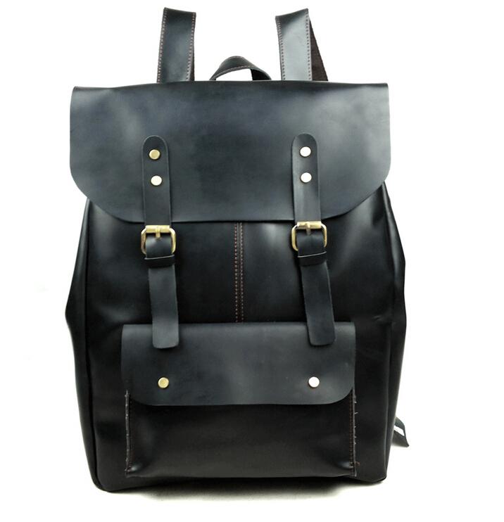 Cowhide leather men backpack big size leisure Shoulder Bag multifunctional travle backpacks genuine leather backpack<br><br>Aliexpress