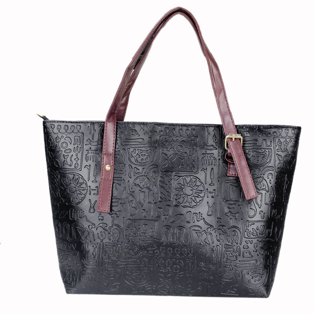 2015 New Fashion Women's Satchel Shoulder Handbags Shoppers Messenger Leather Bags(China (Mainland))