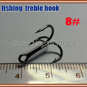 2015NEW fishing treble hooks size:8# quantily 200pcs best fishing hooks high carbon steel(China (Mainland))