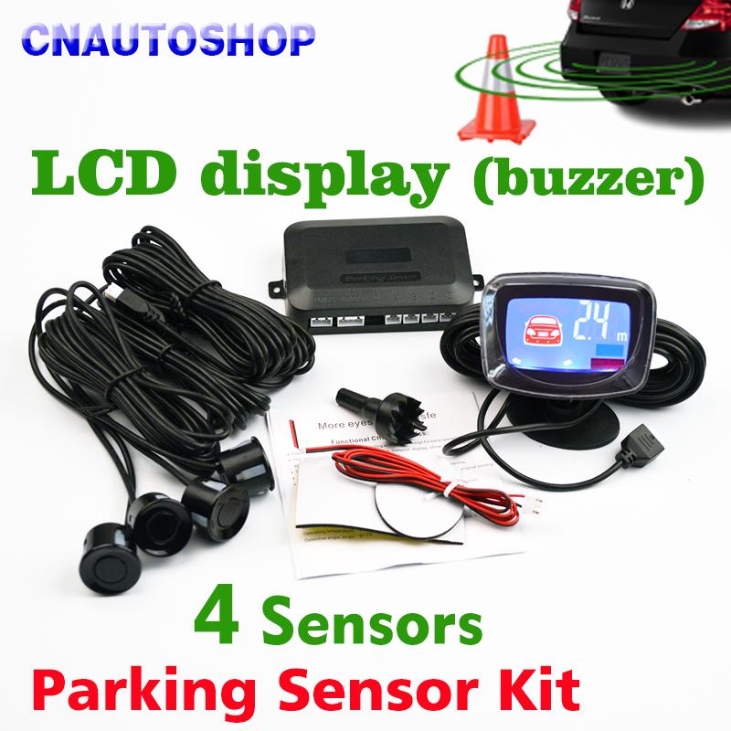 Датчик парковки LCD 4
