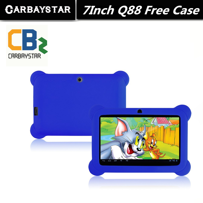 "7"" Tablet PC Android 4.42 Google A33 Quad Core Rom 8GB WiFi Dual Camera 7 Inch Q8 Q88 Tablets PC Free Gift Soft Silicone Case(China (Mainland))"