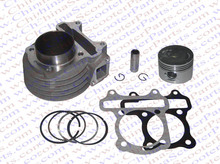 39MM Cylinder Piston Ring Gasket Kit GY6 50CC Jonway Jmstar Yiying Wangye Baotian Sunny Keeway Scooter Parts