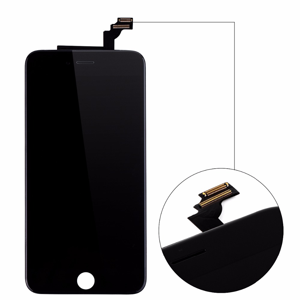 6PCS/LOT No Dead Pixel For iPhone 6 Plus LCD With Touch Screen Digitizer Assembly Display Replacement 5.5 Inch Free Shipping