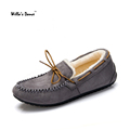 New Arrival 2016 Winter Women s Shoes High Quality Warm Fur Casual Loafers Shoes Women Brand