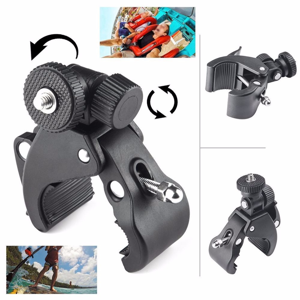 Action Video Camera Accessories Kit for GoPro Hero 4 SJCAM SJ4000 SJ5000 Xiaomi Yi SOOCOO C30 4K Wifi Waterproof Sport DV SCK01