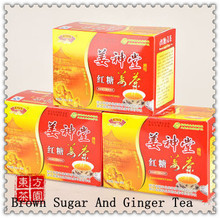 Jiang Shen Tang Brown Sugar Ginger Tea Black Tea Instant Ginger Tea Chinese Style Coffee Bean Power Slimming 180g Free Shipping