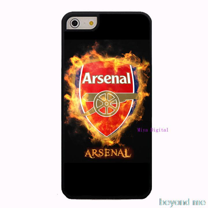 Arsenal Football Club Cover Case for iPhone 4 4s 5 5s 5c 6 Plus Phone Case(China (Mainland))