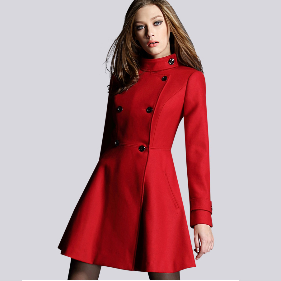 Womens coats red – Modern fashion jacket photo blog