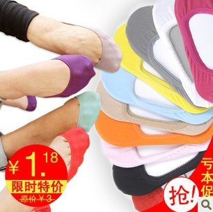 13 color Warm comfortable cotton girl women's socks ankle low female invisible color girl boy hosiery 1pair=2pcs WS41(China (Mainland))