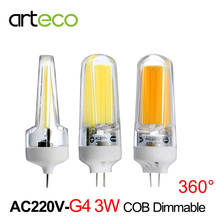 Buy Mini G4 LED Bulb LED Lamp 3W COB Dimmable 300LM AC220V LED Spotlight Replace Halogen Lamp Chandelier Crystal Light for $2.28 in AliExpress store