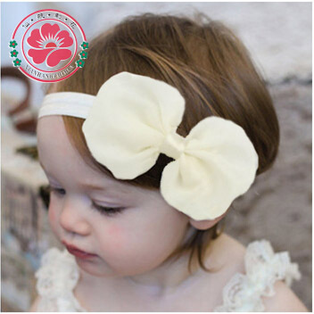 12pcs/lot Cute Kids Baby Girls headband Toddler Infant Chiffon Bowknot Headbands Solid Color Hair Bows Hair Band Accessories 585(China (Mainland))