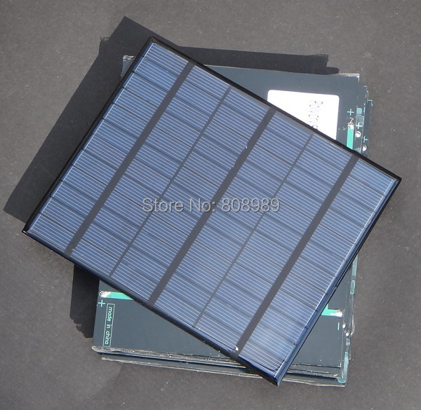 3.5W18V Polycrystalline Solar Cell Mini Solar Panel DIY Panel Solar Power 12V Battery Charger 165*135*3MM 12pcs/lot FreeShipping<br><br>Aliexpress