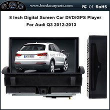 8″Car DVD Audio Video Player For AUDI Q3 2012-2013 With GPS Navigation Radio Bluetooth Support DVR Free Map