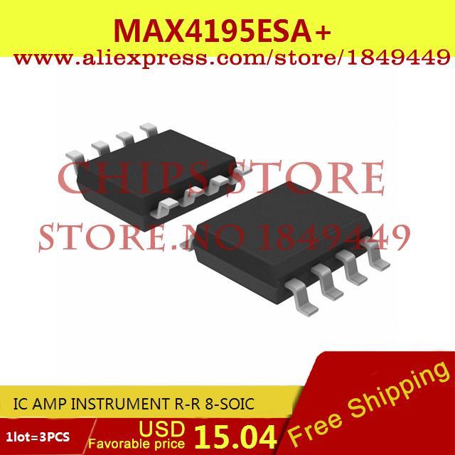 Бесплатная Доставка Горячей Продажи Smart Electronics Integrated Circuit MAX4195ESA IC AMP ИНСТРУМЕНТ R-R 8-SOIC 4195 MAX4195 4195E 3 ШТ. бесплатная доставка горячей продажи smart electronics integrated circuit tlv3501aidrg4 ic comp r r 4 5ns hs 8 soic 3501 tlv3501 3 шт